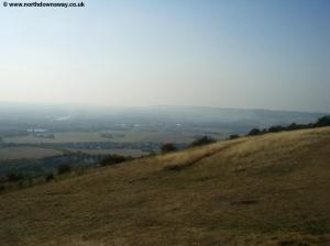 View from the Bluebell Hill Picnic site