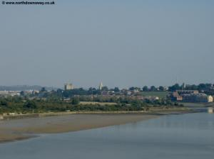 The River Medway, Rochester Cathedral and Castle