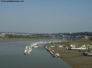 The River Medway from Medway Bridge