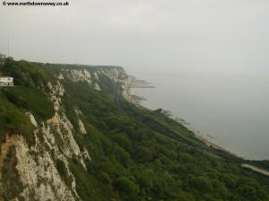 The white cliffs ahead