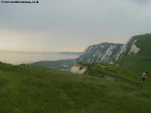 Looking back to Samphire Hoe